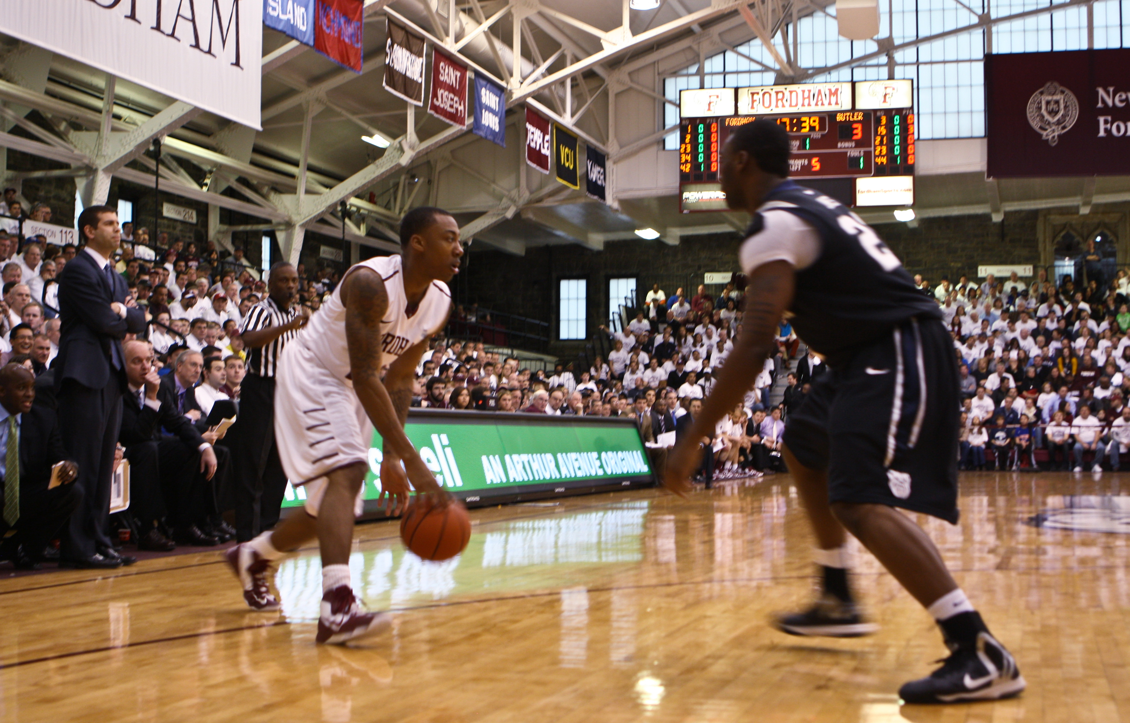 Photo by Michael Hayes/The Ram Mandell Thomas impressed as a freshman and will be counted on next year.
