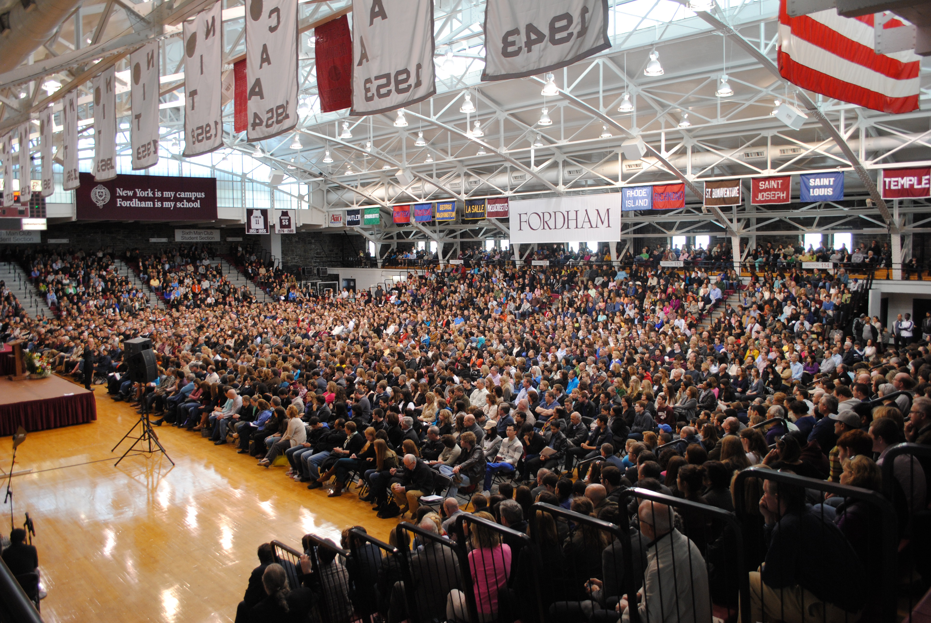 Courtesy of Drew Dipane/The Ram Thousands of admitted students and their families attended Spring Preview at both Fordham campuses.