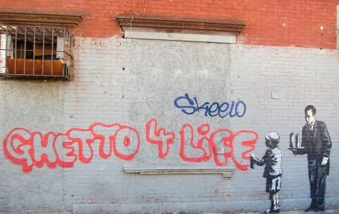 Banksy says 'Cheerio' to the Big Apple