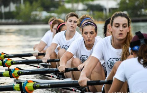 Rowing Competes at Kerr Cup