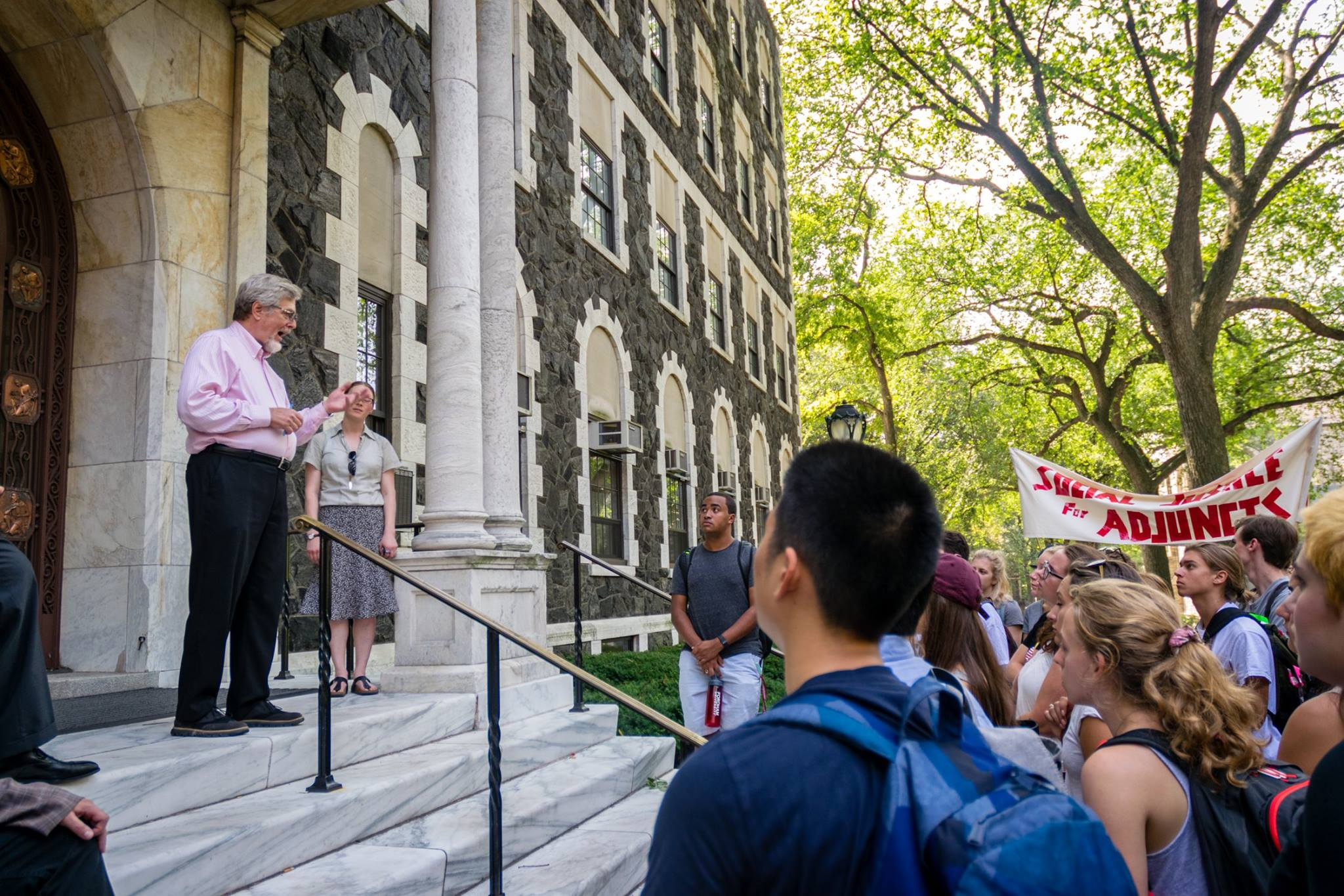 Fordham needs to meet the needs of its faculty to avoid LIU Brooklyn's current situation. (Andrea Garcia/The Fordham Ram)