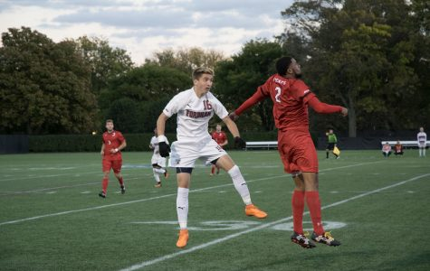 Men's Soccer Splits At Home Against Lehigh, Davidson