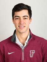 Oscar Cabanas appeared in every one of the golf team's five fall events. (Courtesy of Fordham Athletics)