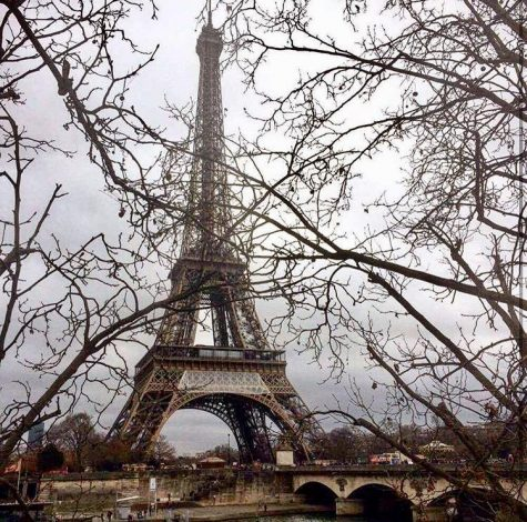 """While in Paris, France, Pinna managed to explore new terrain despite her phone being broken"" (Courtesy of Traveler)."
