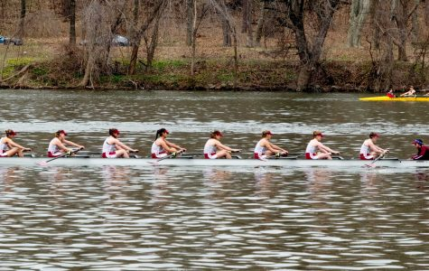 Junior Varsity eight A's were the top finishers on the day (Courtesy of Andrea Garcia/The Fordham Ram).