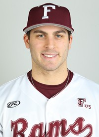Mark Donadio is a senior outfielder for Fordham Athletics, and has been a fixture in left field since his freshman year (Courtesy of Fordham Athletics).