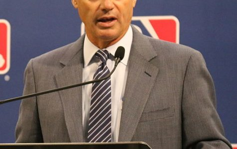 Rob Manfred is considering making changes to major league baseball.