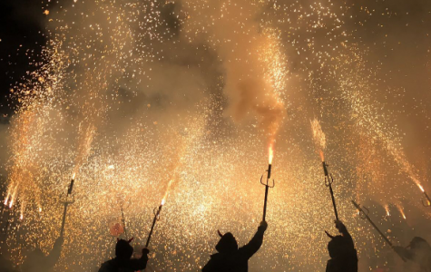 Sparks Fly at Correfoc
