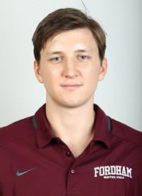 Alex Jahns is the starting goalkeeper for Fordham Water Polo.