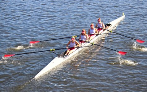 Rowing Competes at Head of Charles