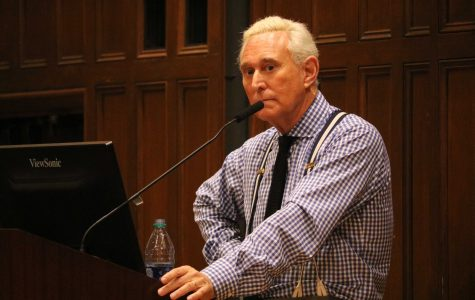 Trump Advisor Roger Stone Met with Cheers, Jeers