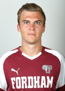 Jannik Loebe has scored nine game-winners during his four years at Fordham. (Courtesy of Fordham Athletics)