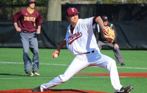Fordham Baseball's pitching staff will be it's strength this season (Julia Comerford/The Fordham Ram).