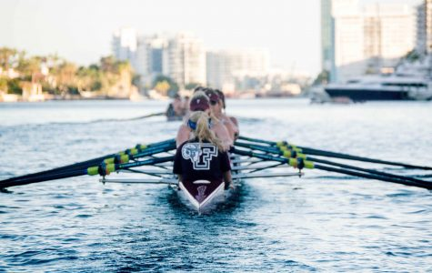 The rowing team went down to Florida for thier spring training session (Andrea Garcia/The Fordham Ram).