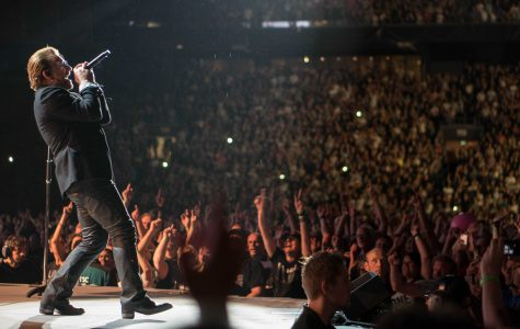 U2's Bono performs at the now-Johan Cruyff Arena on July 29, 2017 during their The Joshua Tree Tour 2017. (Courtesy of Flickr)