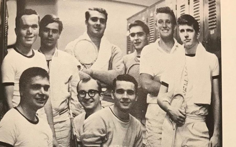 Former+squash+player+and+athlete+Donald+Trump.+Fordham+University%27s+1965+squash+team+from+The+Maroon+yearbook.+%28Courtesy+of+Jake+Shore%2FThe+Fordham+Ram%29
