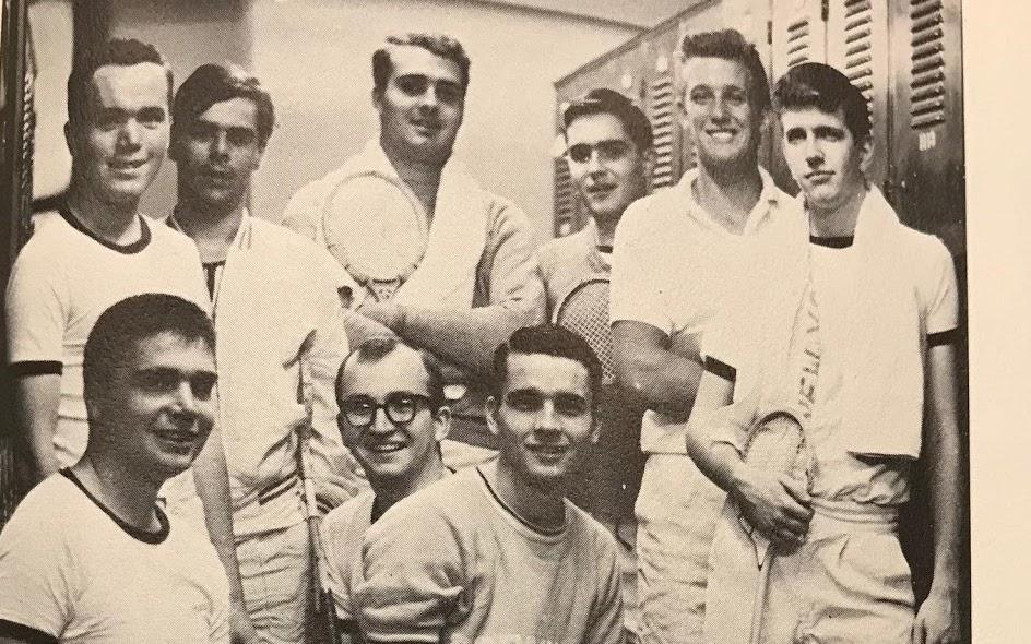 Former squash player and athlete Donald Trump. Fordham University's 1965 squash team from The Maroon yearbook. (Courtesy of Jake Shore/The Fordham Ram)