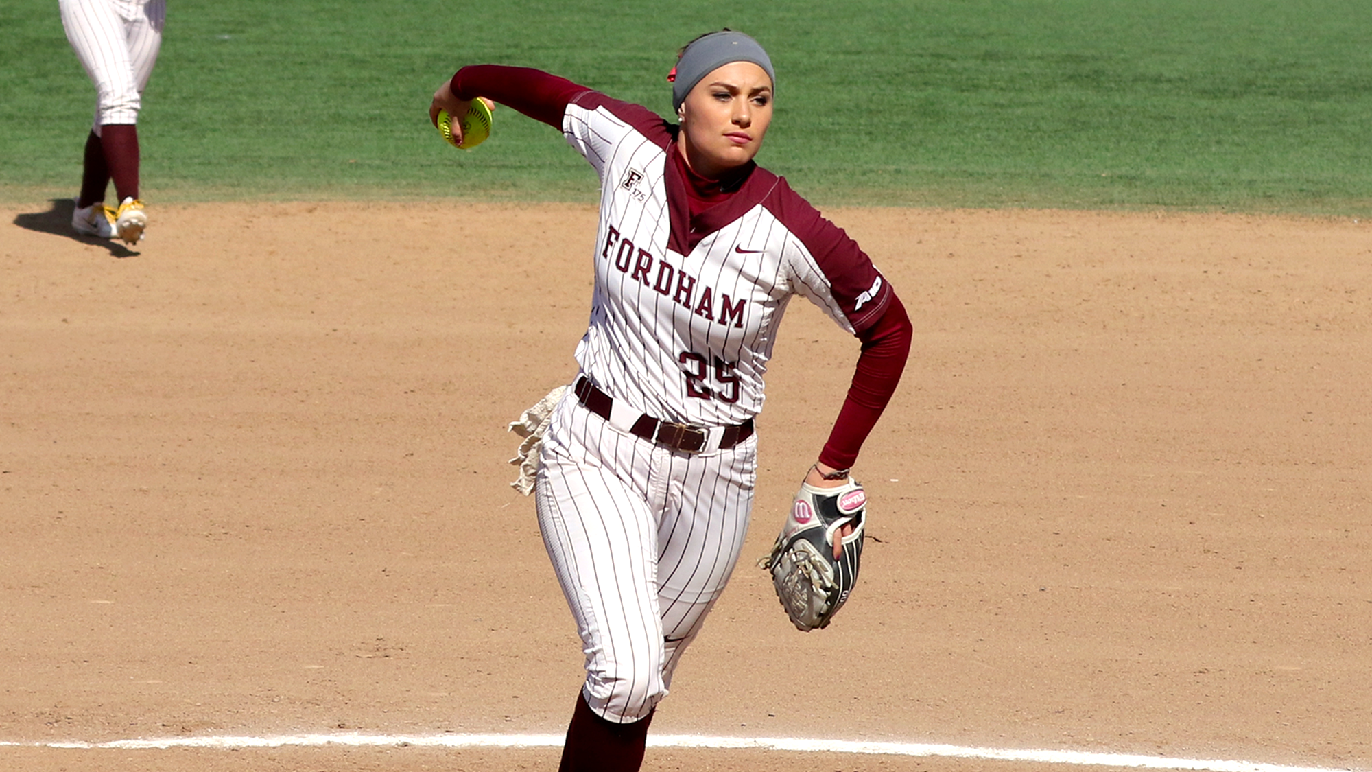 Lauren Quense was one of the main stars for the Rams this week, as they won four out of their five games played (Courtesy of Fordham Athletics).