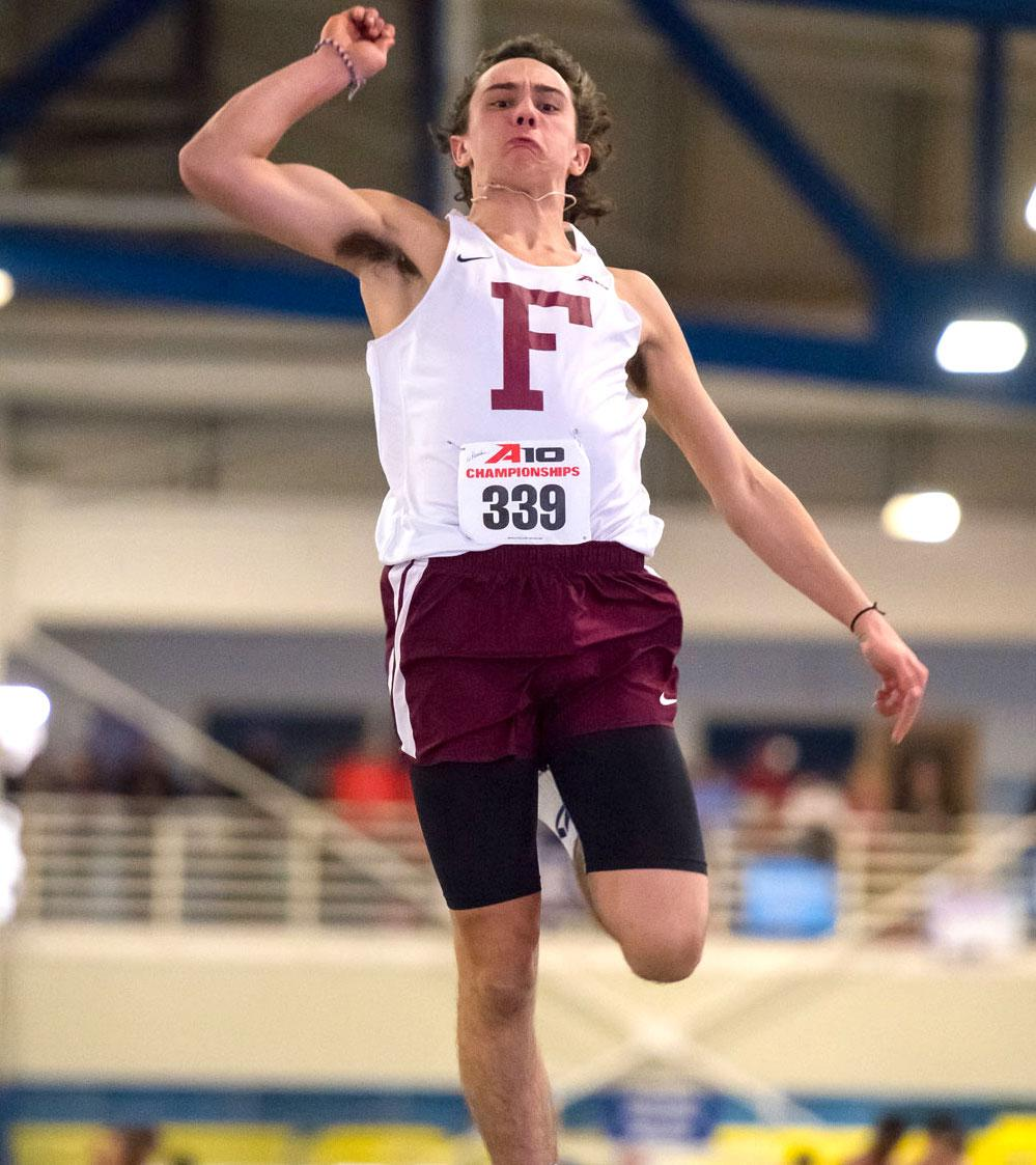 The Men's and Women's Track and Field teams were impressive at the Colonial Relays this past weekend (Courtesy of Fordham Athletics).