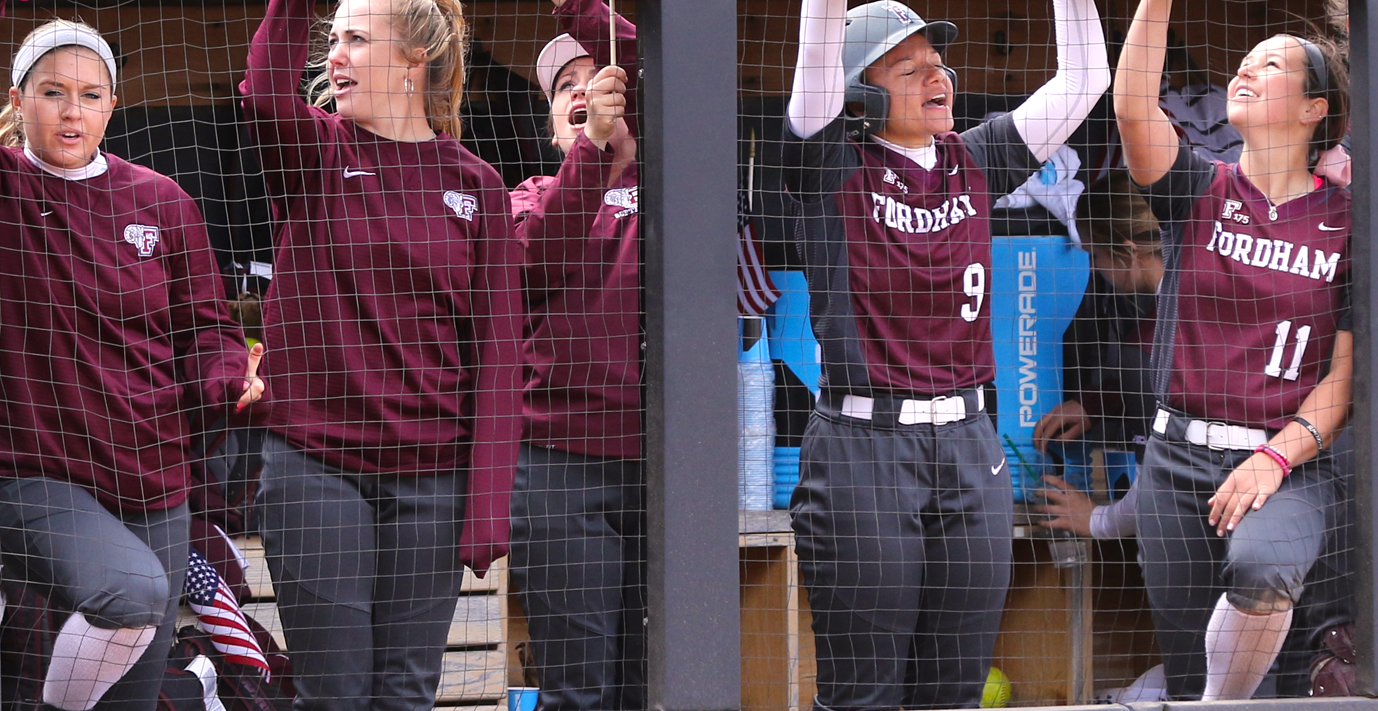 Fordham Softball was 15-1 in Atlantic 10 play before this weekend, but a sweep to UMass has dropped them in the A10 standings (Courtesy of Fordham Athletics).
