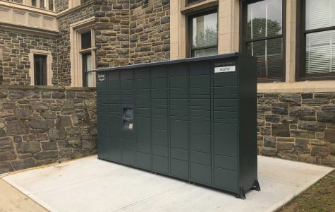 Amazon Lockers Installed on Campus