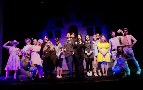 "The Mimes and Mummers' production of ""The Addams Family"" was staged in Collins Auditorium from Oct. 11–14. (Courtesy of Kay Kurkierewicz)"