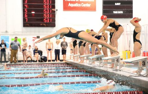 Swimming and Diving Inconsistent Against BU