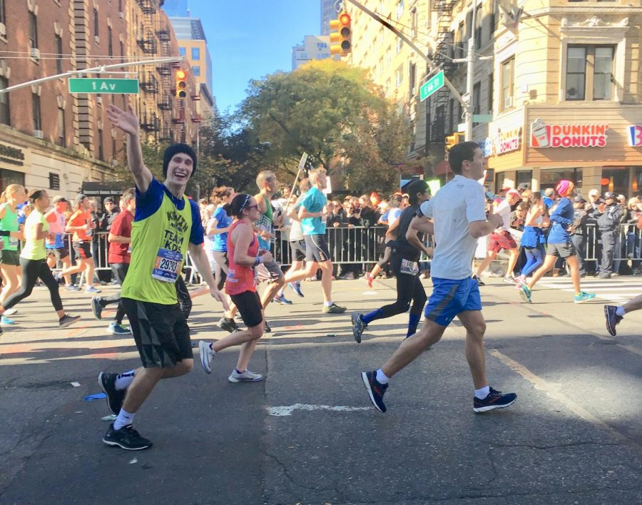 Deep Breaths at the New York City Marathon