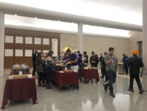 CSA Hosts Thanks-Give-Away Despite Storm