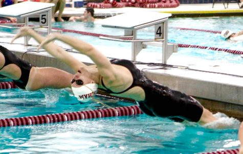 Women Thrive, Men Struggle as Swimming Competes at Bucknell Invitational