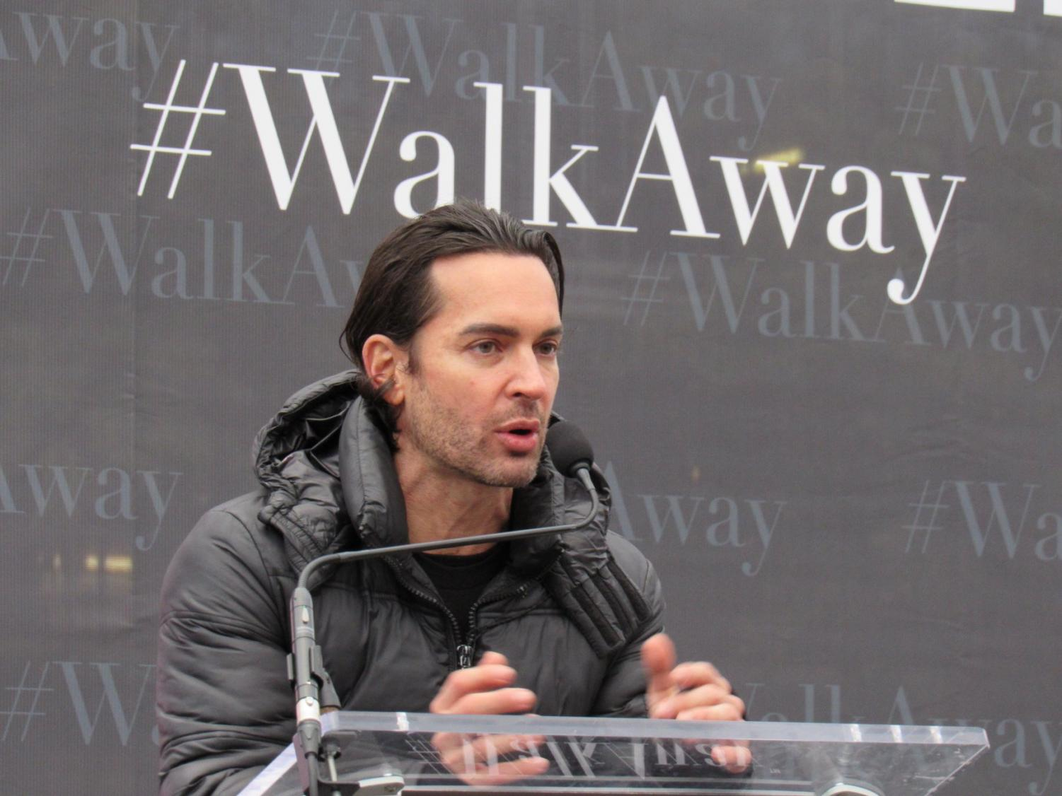 #WalkAway founder, Brandon Straka aims to increase awareness, but devout Democrats should not be worried. (Courtesy of Facebook)