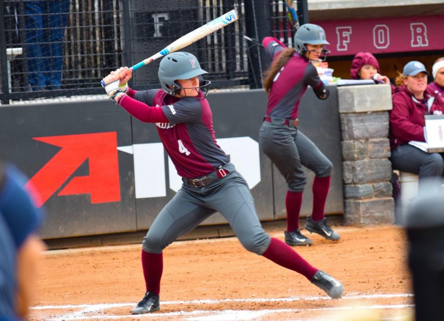 Fordham+Softball+had+many+losses+after+last+year%2C+including+head+coach+Bridget+Orchard.+%28Julia+Comerford%2FThe+Fordham+Ram%29