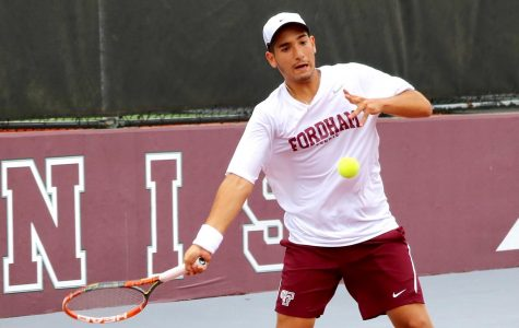 Men's Tennis starts season on the right foot at La Salle. (Fordham Athletics)