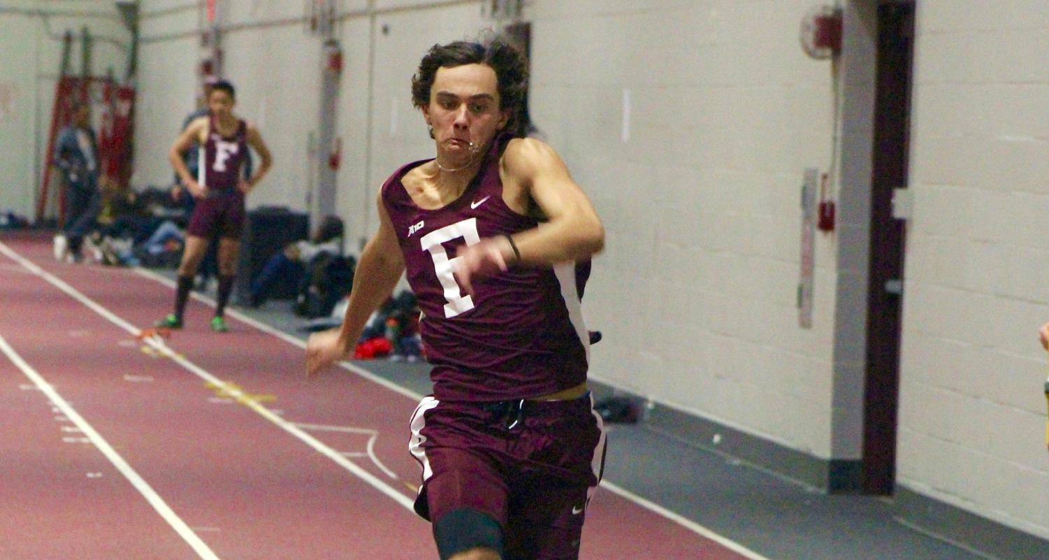 Fordham Track is still in its indoor season, but it's never too early to look ahead. (Courtesy of Fordham Athletics)