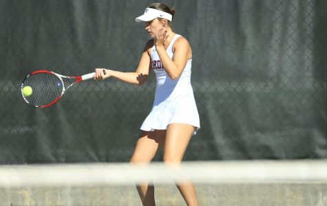 Fordham Women's Tennis started its season with matches against Yale and Harvard. (Courtesy of Fordham Athletics)