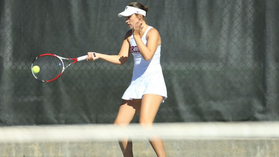 Fordham+Women%E2%80%99s+Tennis+started+its+season+with+matches+against+Yale+and+Harvard.+%28Courtesy+of+Fordham+Athletics%29