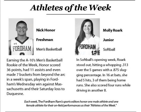 Athletes of the Week for 11/28-12/4