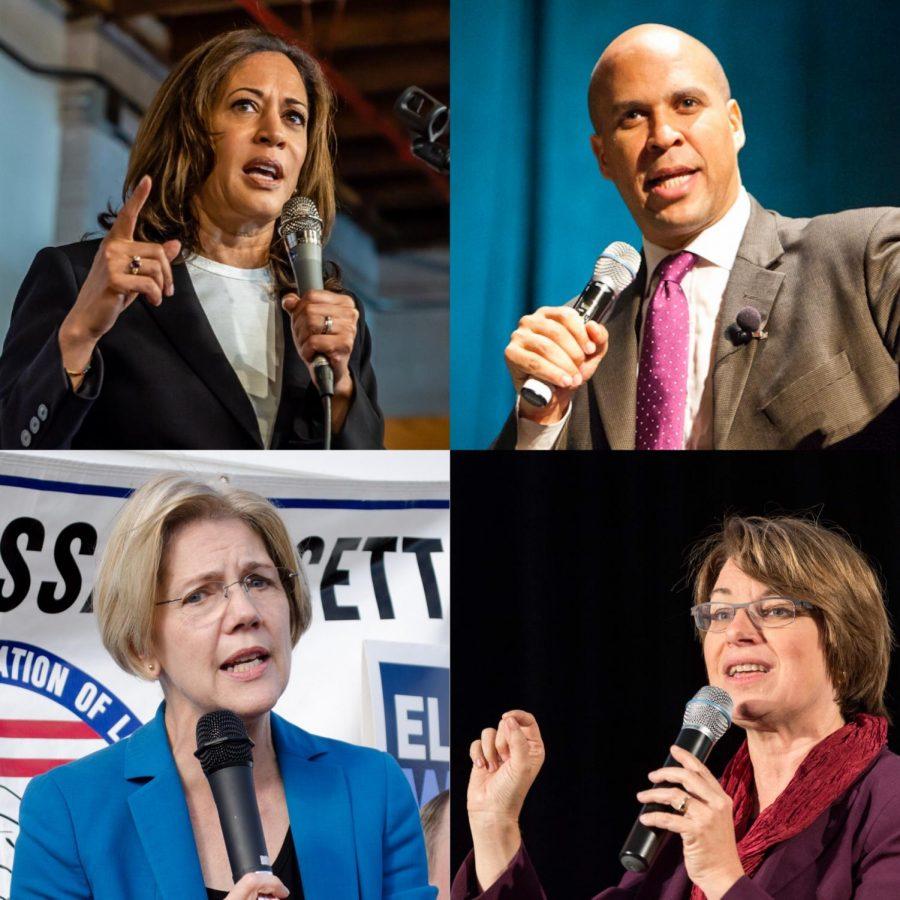 Democratic+candidates+for+president+include+Senators+Kamala+Harris+%28CA%29%2C+Amy+Klobuchar+%28MN%29%2C+Cory+Booker+%28NJ%29+and+Elizabeth+Warren+%28MA%29.+%28Courtesy+of+Flickr%29