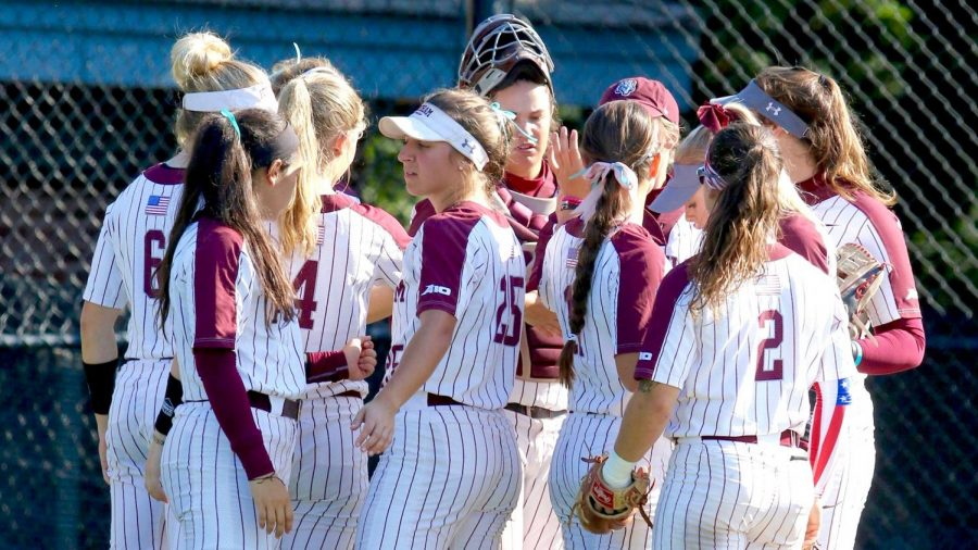 Molly+Roark+and+Madie+Auginbaugh+were+the+stars+of+Fordham+Softball%E2%80%99s+opening+weekend.+%28Courtesy+of+Fordham+Athletics%29