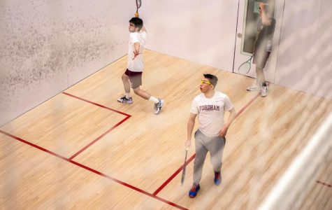 Fordham Squash may have had the best season in its history last year. (Will Jones/The Fordham Ram)