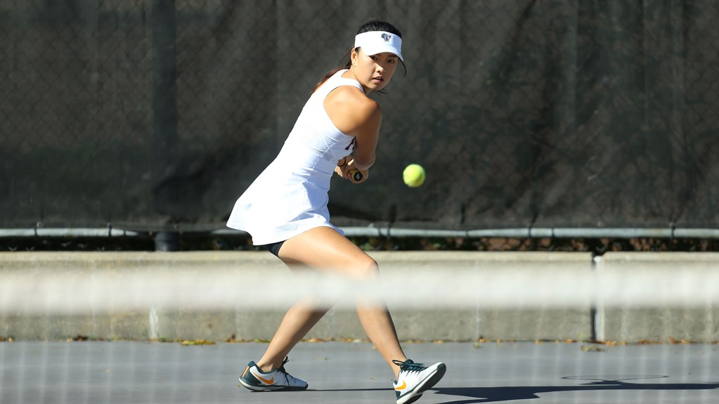 Fordham Women's Tennis dominated Quinnipiac for their first win. (Courtesy of Fordham Athletics)