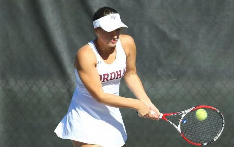 Fordham's women's tennis team got its second win in three matches on Friday. (Courtesy of Fordham Athletics)