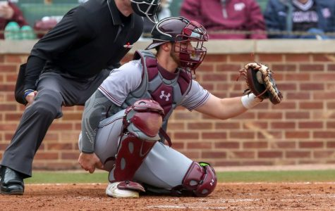 Fordham catcher Justin Bardwell had three hits in Sunday's 8-6 victory over North Florida. (Russell James)