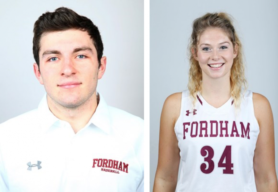 Athletes+of+the+Week+for+3%2F6-3%2F12+%28Courtesy+of+Fordham+Athletics%29
