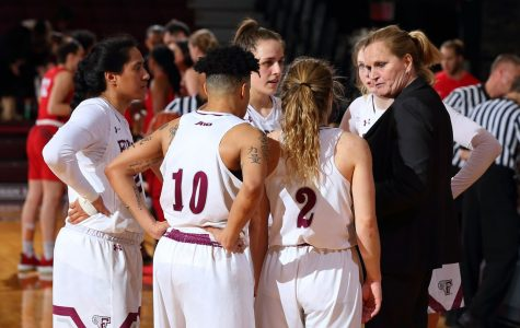 Women's Basketball made history by securing a share of its first ever Atlantic 10 regular season title. (Courtesy of Mackenzie Cranna/The Fordham Ram)