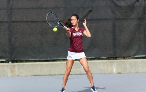 Women's Tennis stands at 3-6 this season after its second straight loss. (Courtesy of Fordham Athletics)