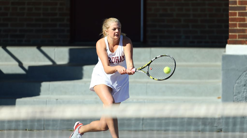 Women's Tennis finding its stride after winning two straight matches. (Courtesy of Fordham Athletics)