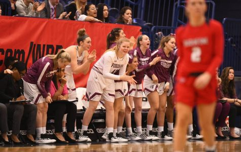 The Fordham women's basketball team is just one win away from an Atlantic 10 Conference title. (Courtesy of Eric Schelkun)
