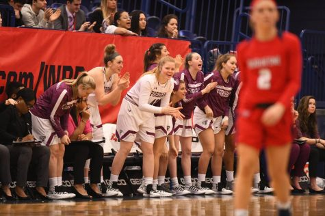 Fordham Women's Basketball Steals Win Over George Mason