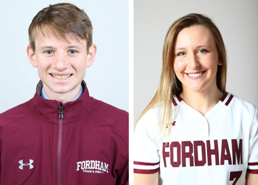 Athletes+of+the+Week+for+the+week+of+4%2F3-4%2F9+%28Courtesy+of+Fordham+Athletics%29